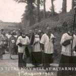 Altarnun pilgrimage to the holy well in 1928.