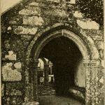 St. Martins Church, Lewannick Porch in 1890.