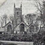 St. Martins Church, Lewannick in 1900.