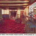 The Royalist Bar in the Knigs Head, Five Lanes.