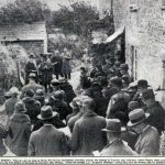 Wesleyan Service at Wesley Cottage, Trewint in 1932.