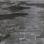 Aerial of Bolventor and Bodmin Moor in the 1930's